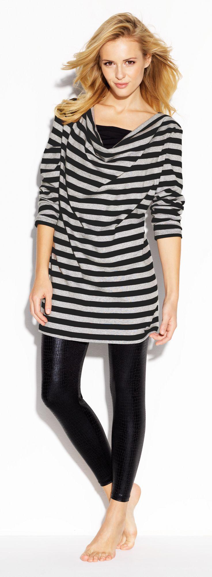 CYBÈLE Podzim-Zima 2015/2016   Volnočasové prádlo   Triko   Legíny   Loungewear   T-shirt   Leggins   www.naturana-plavky-pradlo.cz