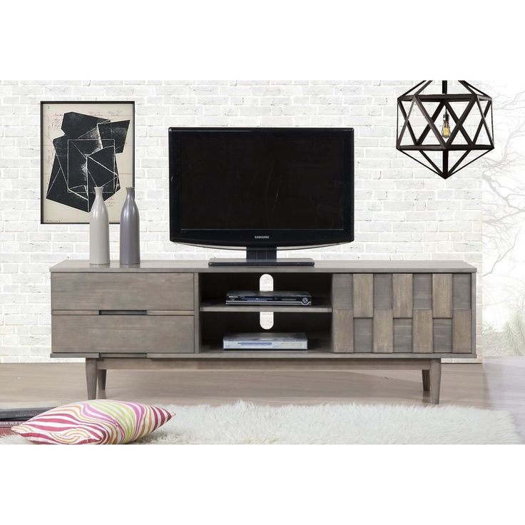 TV Console Living Room Furniture Entertainment Center 70-inch Television Stand  #ILoveLiving