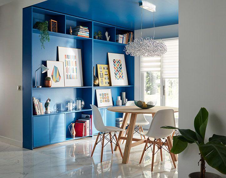 Inspiration Déco : Quand la couleur se fond dans le décor !