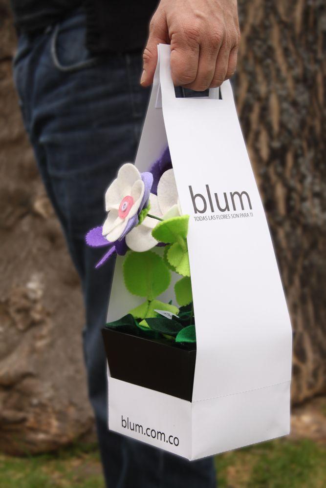 Materita de flores silvestres. Empaque. http://blum.com.co/por_articulo/materita