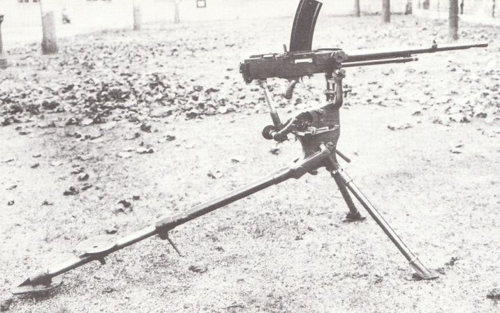 French Mac Mle 1936 Machine Gun In 75mm French The Mac 36 Was