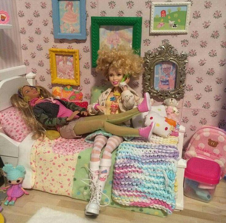 Barbie Room: 3867 Best Barbie Dollshouse And Diorama Images On