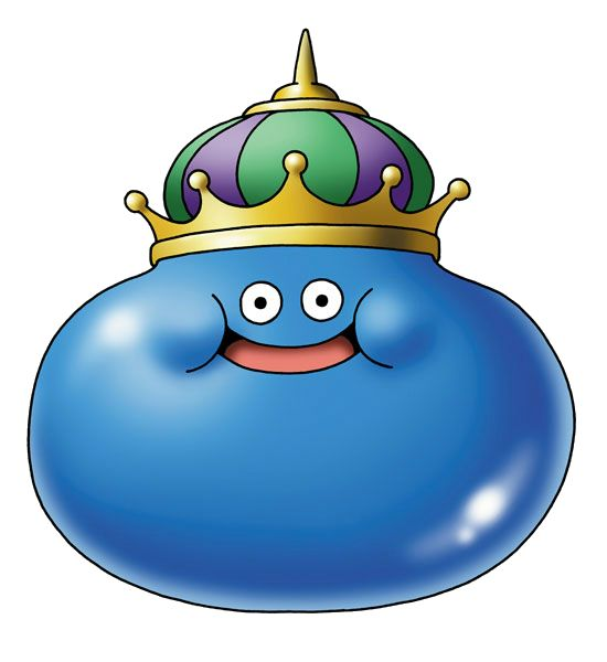 King Slime Dragon Quest Dragon Warrior Dragon