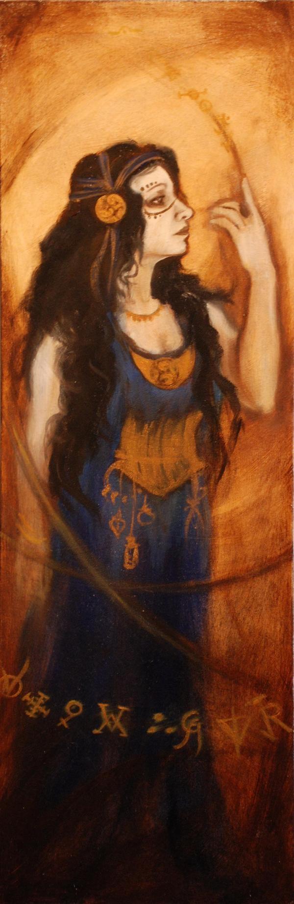 'Alcandre' oil on canvas 2008      Maeve Fianna Callahan.    - available- 390.