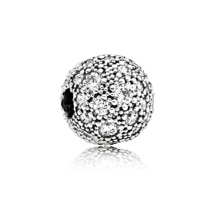 Pandora s925 Silber Klar CZ kosmisch Stars Clip #791286CZ