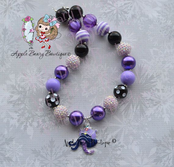 Ursula collar Ursula grueso collar mar diablo collar Disney