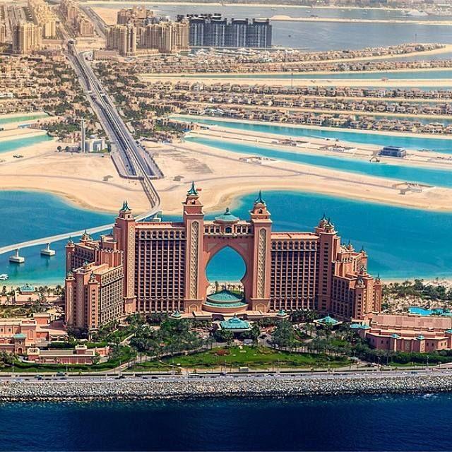 wierd looking place; reminds me of ancient eygpt. Atlantis The Palm Jumeirah, Dubai