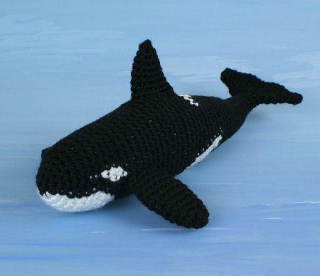 Orca (Killer Whale) crochet pattern