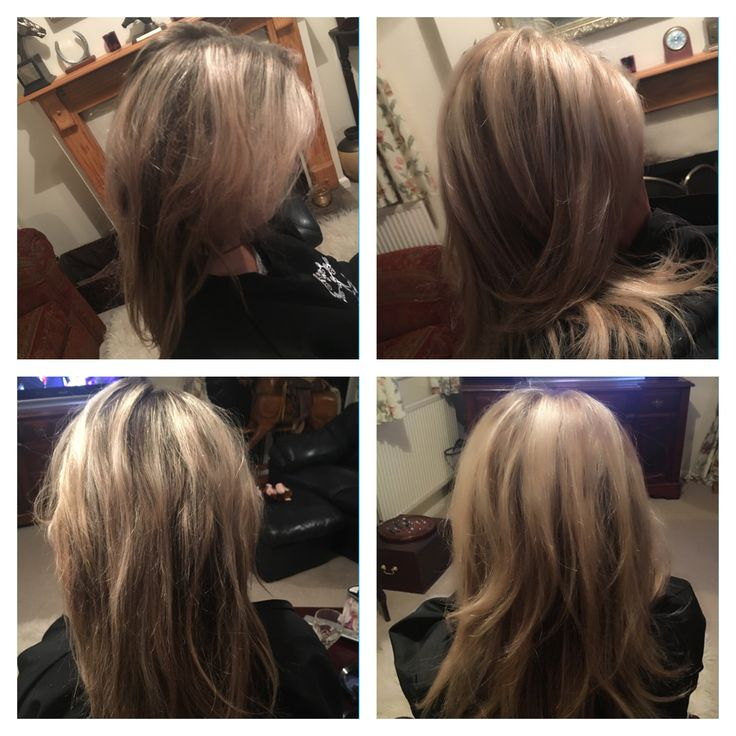 Before and after, ash highlights #kemon #brionycurtis