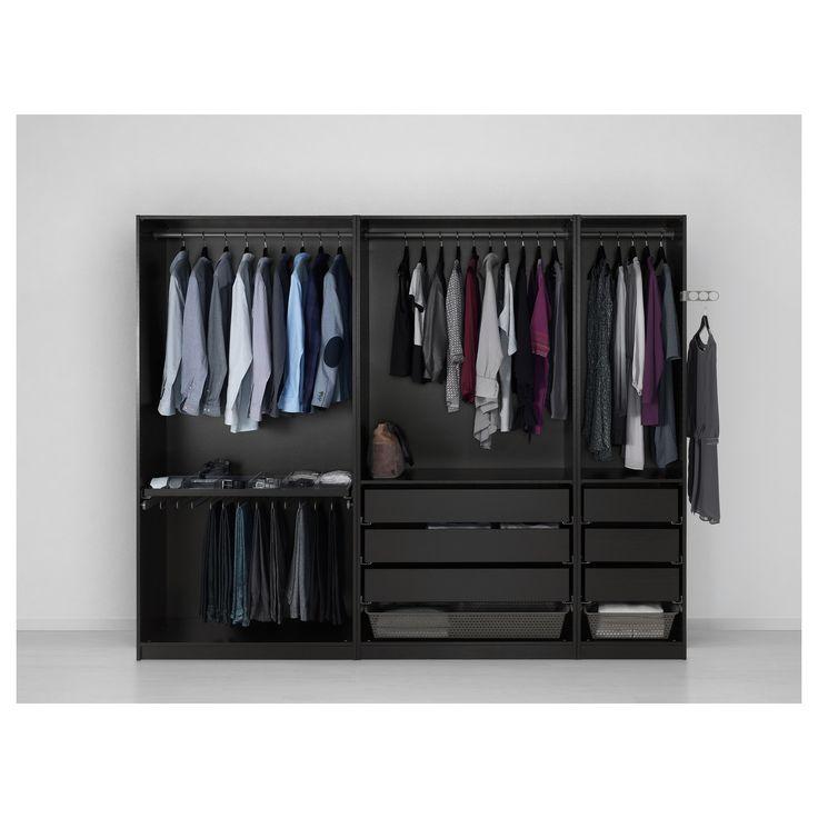 ikea bedroom closets. Ikea black PAX wardrobe  98 x 22 for walk in closet plum bedroom Best 25 Pax planner ideas on Pinterest pax