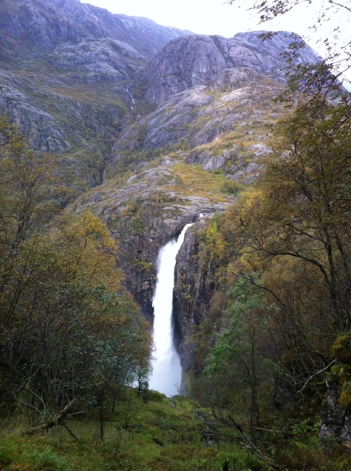 Månefossen waterfall , Rogaland's biggest waterfall and a popular attraction in the beautiful #Regionstavanger #visitnorway