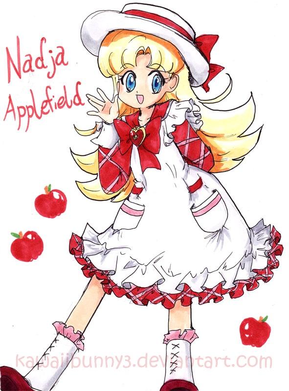 """Nadja Applefield from """"Ashita no Nadja"""""""