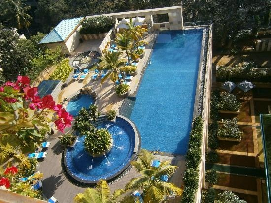 View from my room overlooking the Pool at 14th floor. Picture courtesy: Tripadvisor