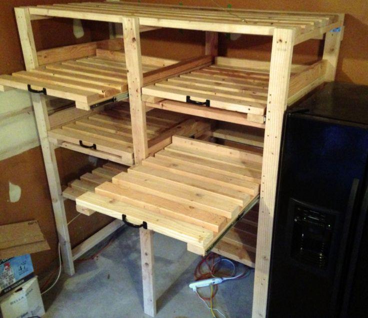 Do It Yourself Bookshelf Ideas: 1000+ Ideas About Garage Shelf On Pinterest