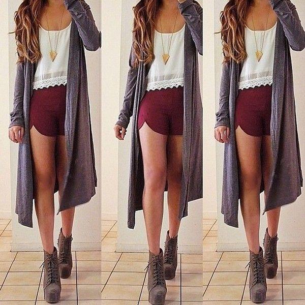 Best 25  Burgundy shorts ideas only on Pinterest   Maroon shorts ...
