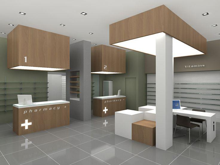 Pharmacy render designed by Voyatzoglou Systems