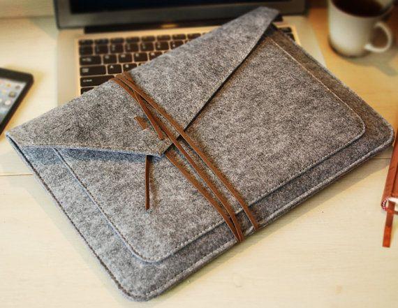 Custom shop ,Felt macbook sleeve ,macbook cover ,macbook pro case ,macbook pro   ,macbook 13 sleeve , mabook 13 cover (615)