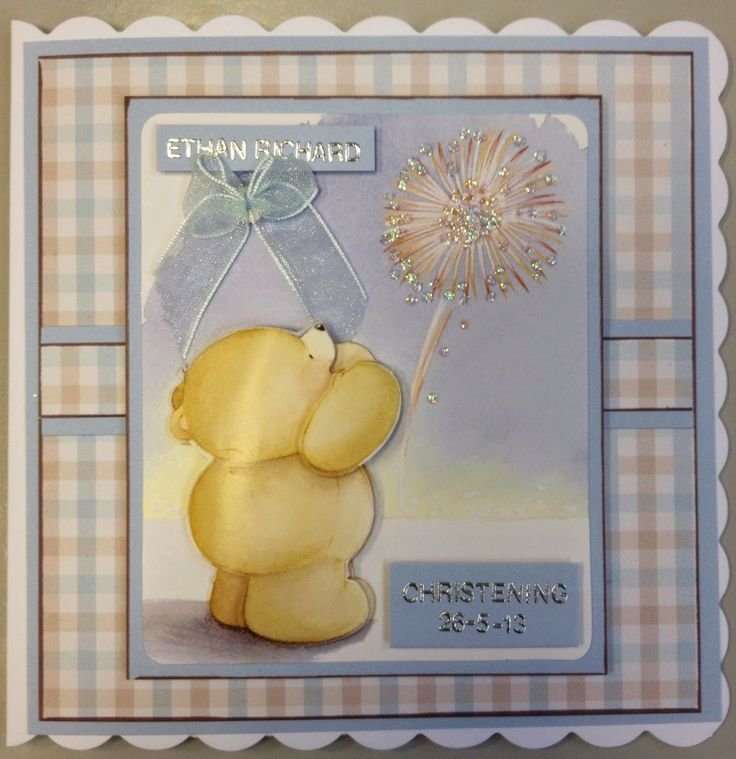 Forever Friends Christening Card by SoSpecial Cards