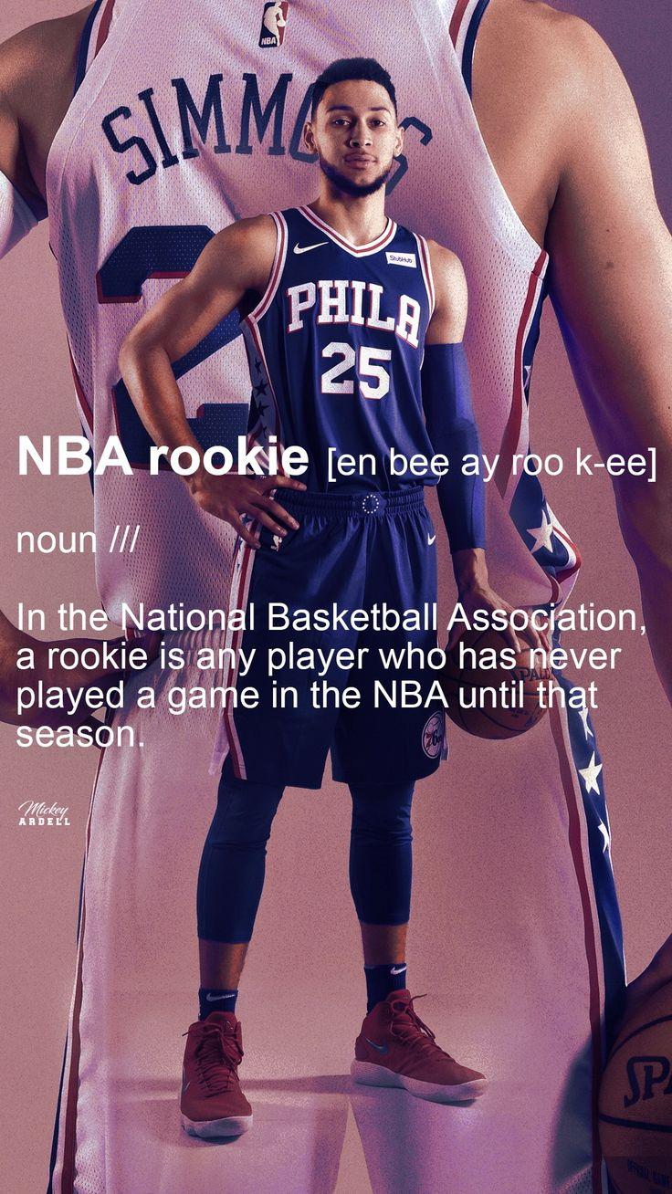 Ben Simmons Rookie Of The Year NBA Art wmcskills Ben