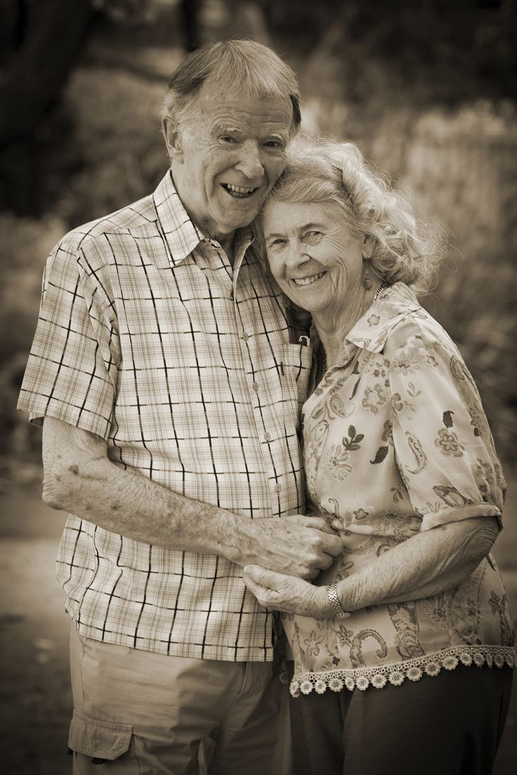 There's no age limit for couples photography.