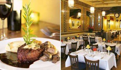 £39 - Chateaubriand Dinner & Wine for 2 in St James