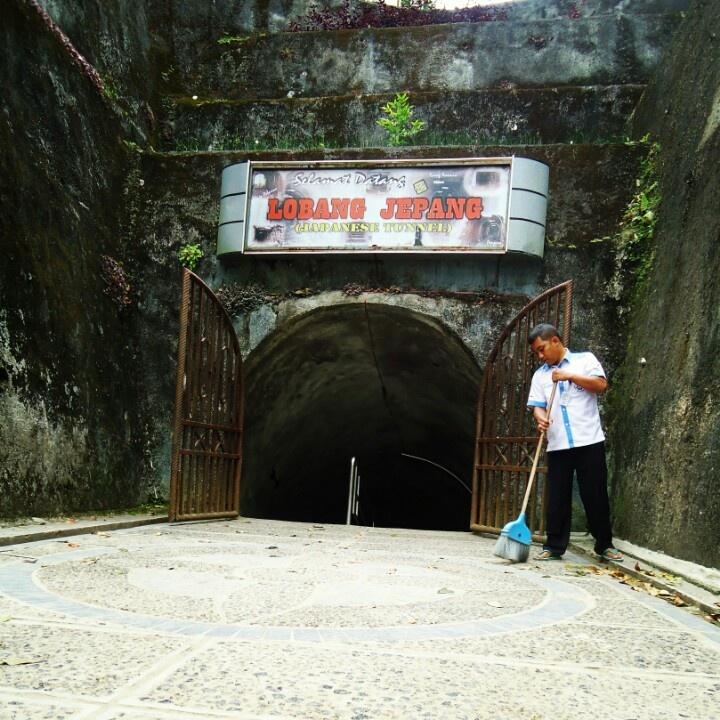 The gate , Lobang Jepang, Bukit tinggi, West Sumatra, Indonesia