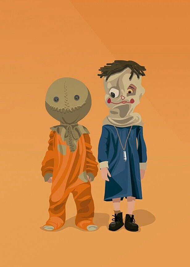 SAM FROM TRICK 'R'TREAT AND TOMAS FROM THE ORPHANAGE