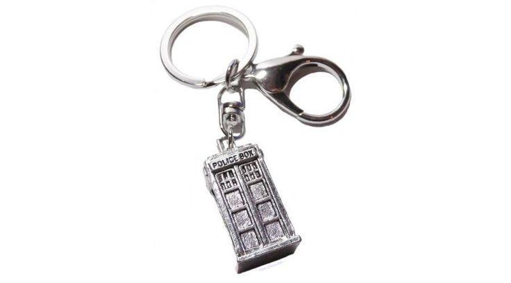 Ki vagy, doki? (Doctor Who) stílusú kulcstartó