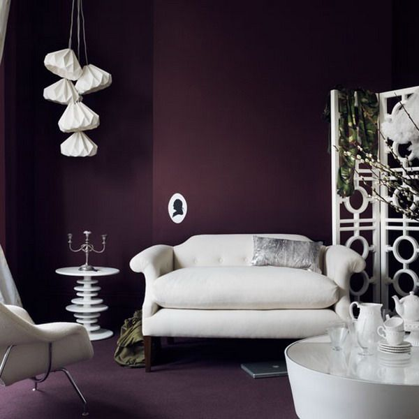 Best 25 Dark Purple Rooms Ideas On Pinterest Bedroom