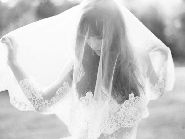 beautiful bride photo by Pacific Northwest and California focused wedding photographer Erich McVey   via junebugweddings.com
