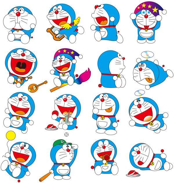 Doraemon多啦A梦矢量素材
