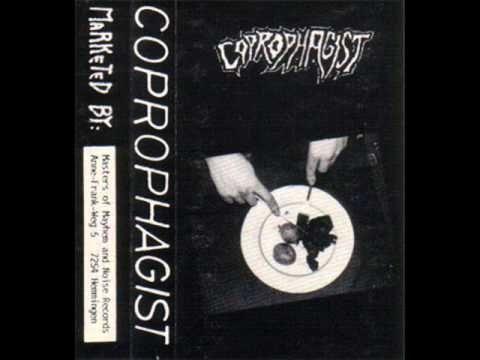 COPROPHAGIST - Coprophagist ◾ (demo 1990, German death metal/grindcore)