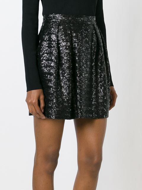 Msgm Sequinned Short Skirt - Russo Capri - Farfetch.com