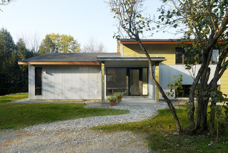 If we have to replace the ugly painted yellow metal siding for Modern house siding solutions
