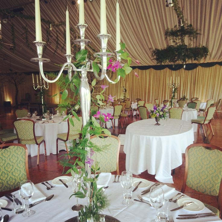 The Queensferry Flower Company. Woodland wedding at Fingask Castle.