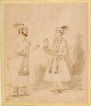Shah Jahan and Dara Shikoh - by Rembrandt van Rijn