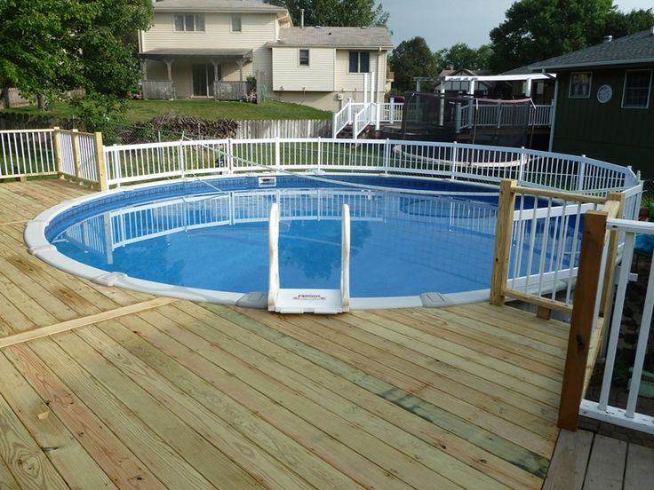 16 best ground pool decks plans images on pinterest for Build your own pool deck