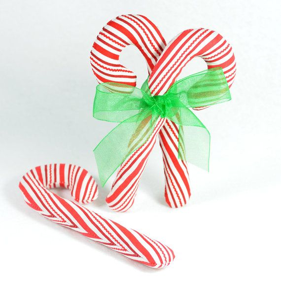 Traditional Candy Cane Organic Catnip Cat Toy by FidoTheCat