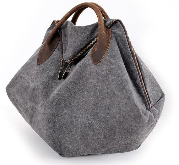 grey  canvas  messenger bags , clutch bag ,Student Canvas bags, Leisure Packs, clutch bags,travel bags, shoulder bag on Etsy, $49.90