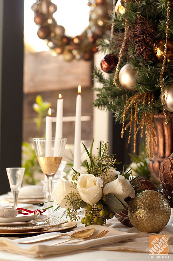 Holiday entertaining ideas a patina christmas tablescape