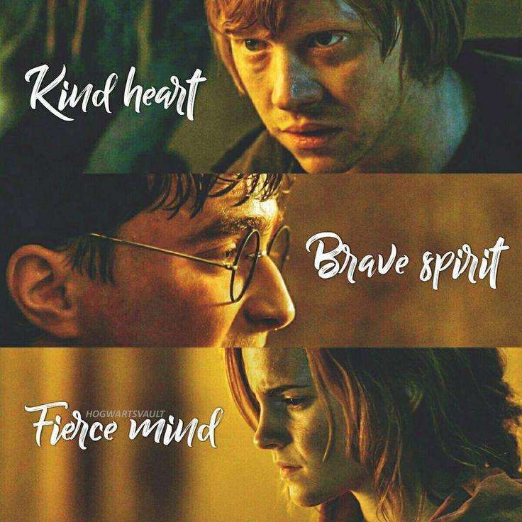 Η α r r γ  Ρ ο τ τ e r Ron, Harry or Hermione?  #harrypotter #hp