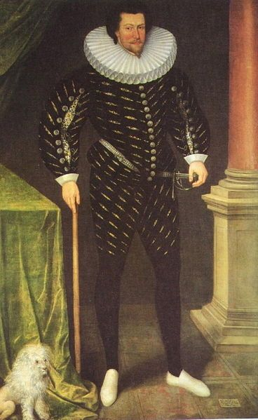 Attributed to Marcus Gheeraerts the younger. William Russell, 1st Baron Russell of Thornhaugh. Probably 16th century. Source: http://www.tudorplace.com.ar/Bios/WilliamRussell(1BThornhaugh).
