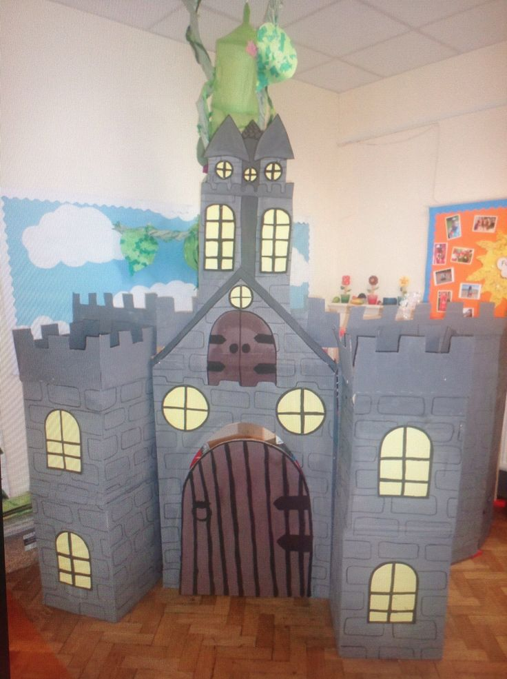 Jack and the beanstalk - how about this for a castle?!