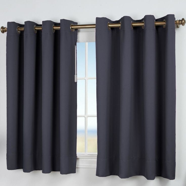 Features   One curtain panel  no tiebacks    Ultimate black out collection. Best 25  Short window curtains ideas on Pinterest   Long window