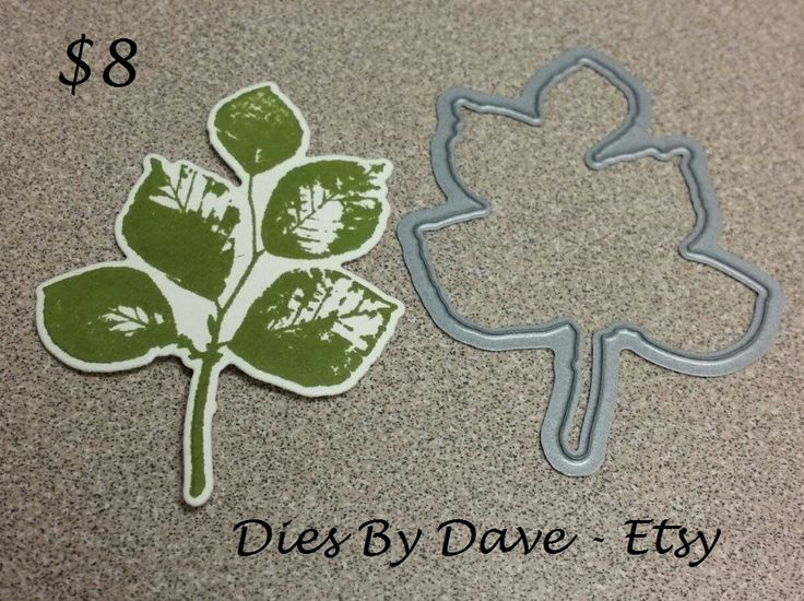 LEAF die by Dies By Dave on Etsy goes with this Kind Eclectic leaf perfectly!