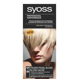 Syoss by Schwarzkopf 9-5 Frozen Pearl Blonde Permanent Hair Color 115 mL with Free Ayur Soap ** Read more info by clicking the link on the image. #hairupdoideas