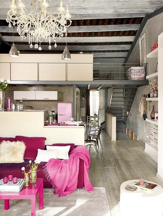 Loft, delicacy and comfort