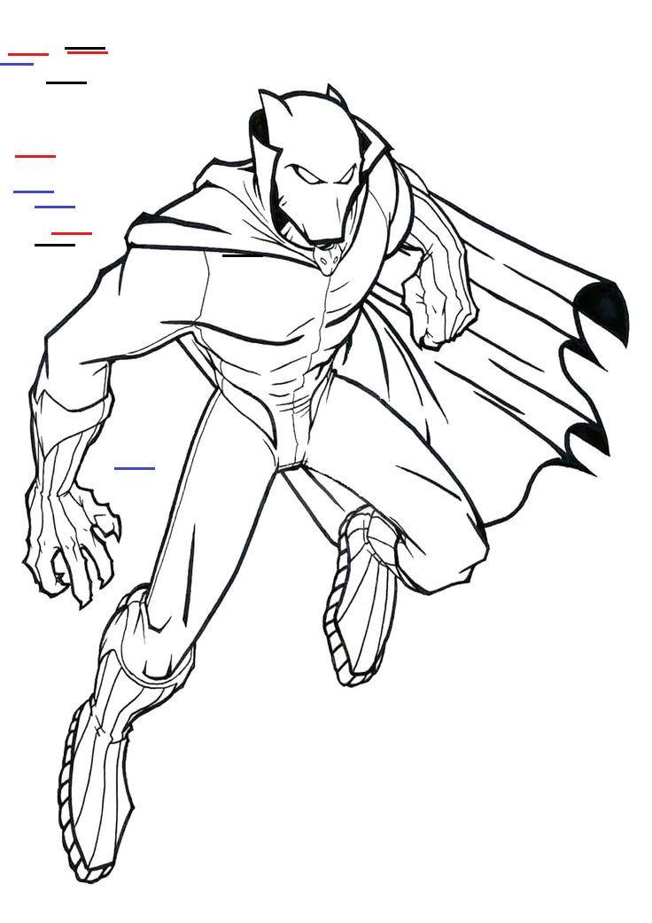 Avengers Da Colorare Fantastico Download Pantera Nera Marvel Da Colorare Le Migliori Of Aveng In 2020 Avengers Avengers Infinity War Humanoid Sketch