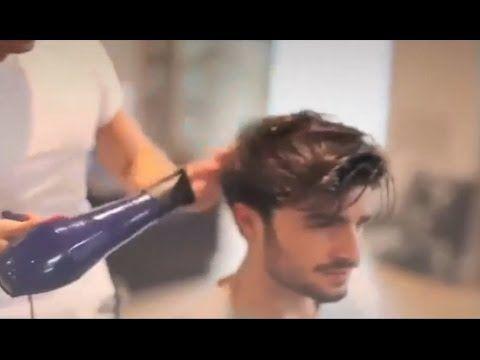 Peinados - Modelo Masculino Tutorial Pelo Copete - YouTube