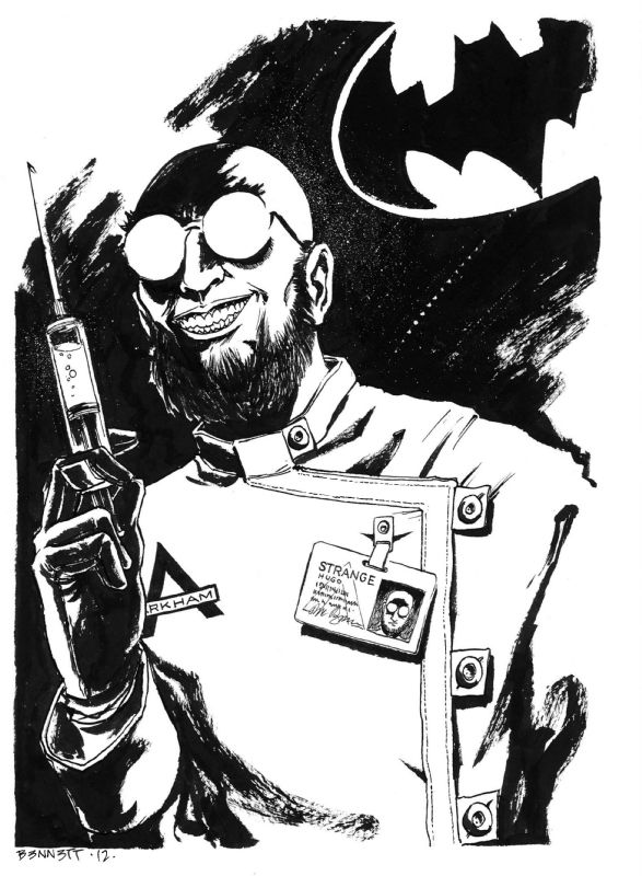 Dr. Hugo Strange by Andy Bennett